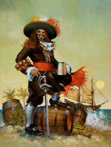 Famous Pirate Paintings