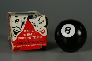 Magic-8-Ball-Fortune Circa Late-1960s