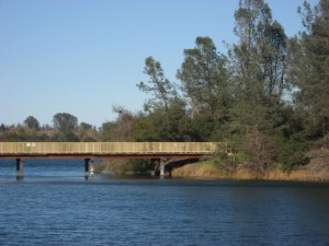 American River near Nimbus Dam