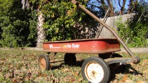 My Radio Flyer Wagon circa early 1980's