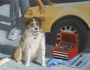 The Mechanic's Apprentice by Artist Ryan Williams