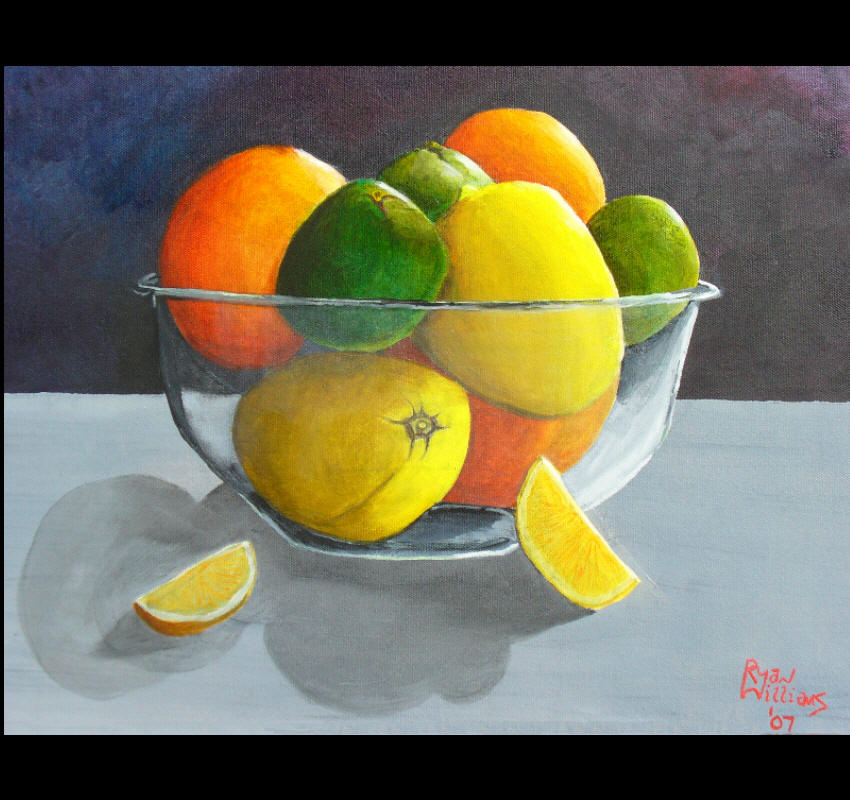 Citrus Bowl (2007) - A bowl full of vitamin C just waits to be called upon.