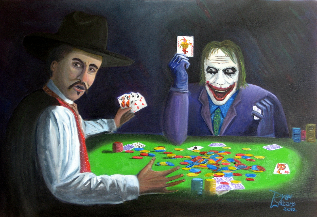 Joker on Holliday (2012) - Doc Holliday would be more than willing to take anyone's money at the poker table, but this is one game he wishes he hadn't started. Doc is looking for a new dealer because clearly this guy is a Joker.